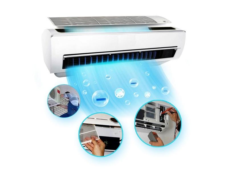 Dịch vụ sửa chữa vệ sinh máy lạnh tại nhà ở Quận 2 giá rẻ