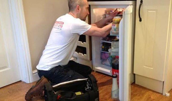 Làm gì khi tủ lạnh bị thủng ngăn đá ( hết gas ) cách sửa chữa tủ lạnh mini