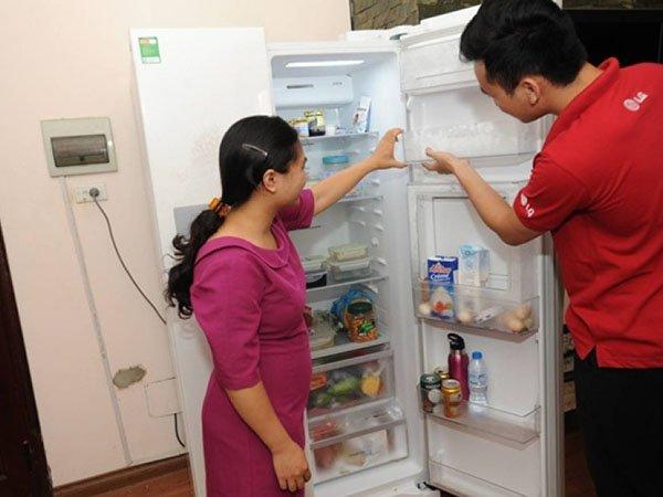 Sửa tủ lạnh tại khu công nghiệp Sóng Thần Dĩ An
